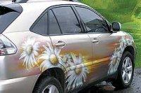 Особый подход к автомобилям с аэрографией